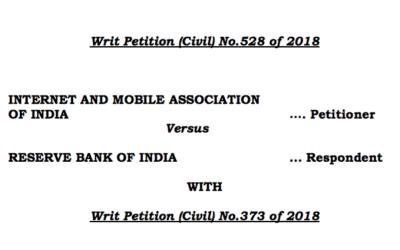 Reserve Bank of India – Supreme Court Judgement
