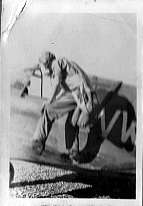 Kittyhawk with pilot 1