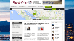 BCATW Find A Writer Directory