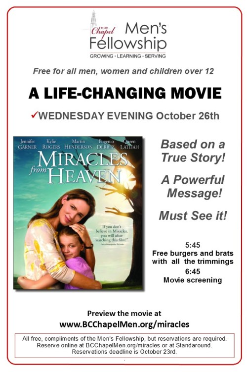 2016-2 - Miracles from Heaven- poster