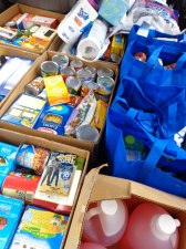 misc items distributed by the Food Pantry