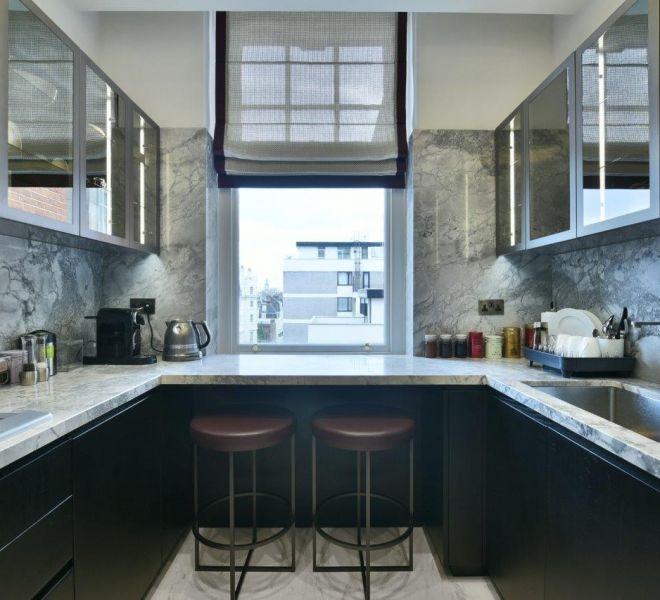 highend kitchen design in Mayfair