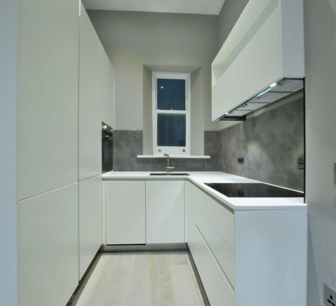 Kitchen joinery units in Mayfair