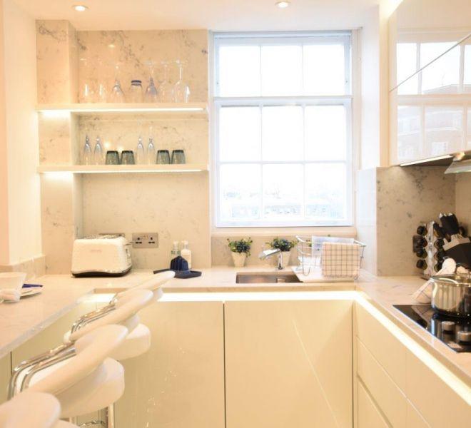 Bespoke Italian kitchen joinery in Marylebone London