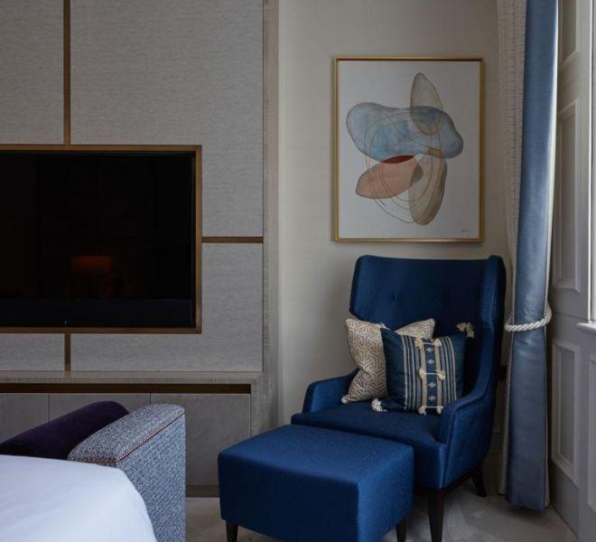 High end designer bedroom in South Kensington BCCSITE