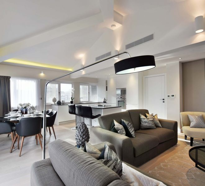 Penthouse refurbishment by Brompton Cross