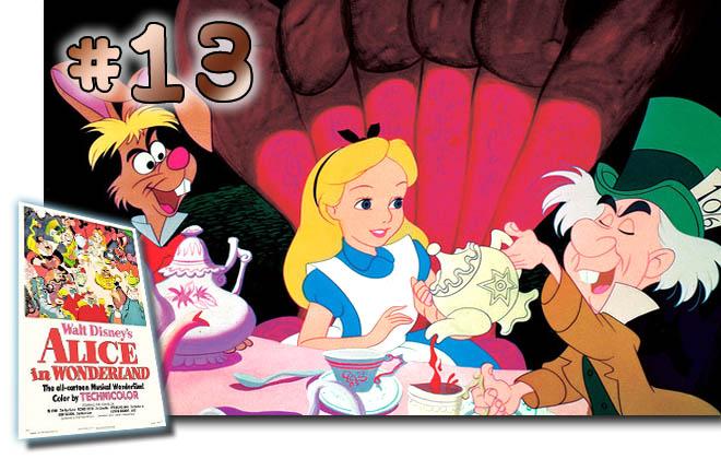 # 13 Alice In Wonderland: BCDB List of Disney Animated Films