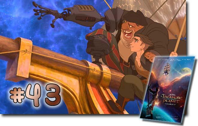 43 Treasure Planet: BCDB List of Disney Animated Films