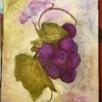Mixed Media Grapes