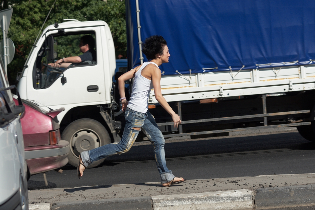 Jaywalkers: when is a driver at fault for hitting them?