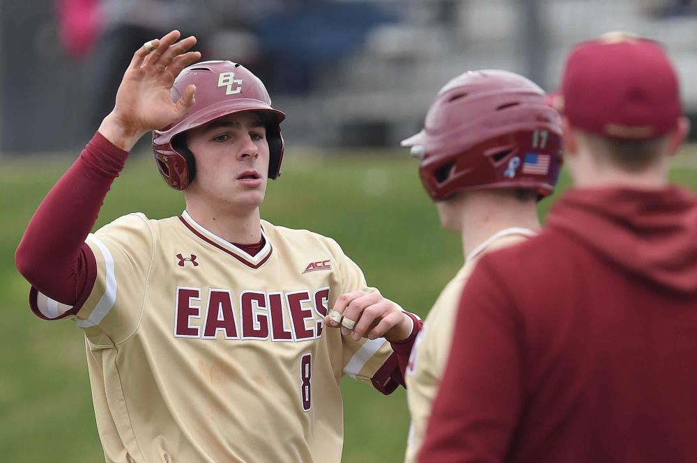 Boston College Claims Series as Joe Suozzi hits second homer of the year