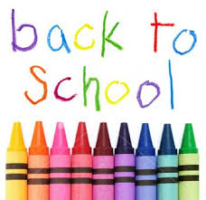 back to school crayons