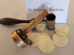 Black powder Training Aids at BC Firearms Academy