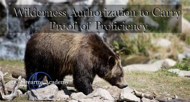 WATC – Wilderness Authorization to Carry Proof of Proficiency Apr 27