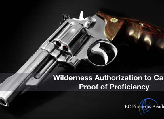 WATC – Wilderness Authorization to Carry Proof of Proficiency Jan 27