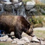 WATC – WILDERNESS AUTHORIZATION TO CARRY PROOF OF PROFICIENCY