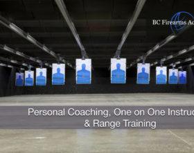 Personal Coaching, One on One Instruction & Range Training Feb 17