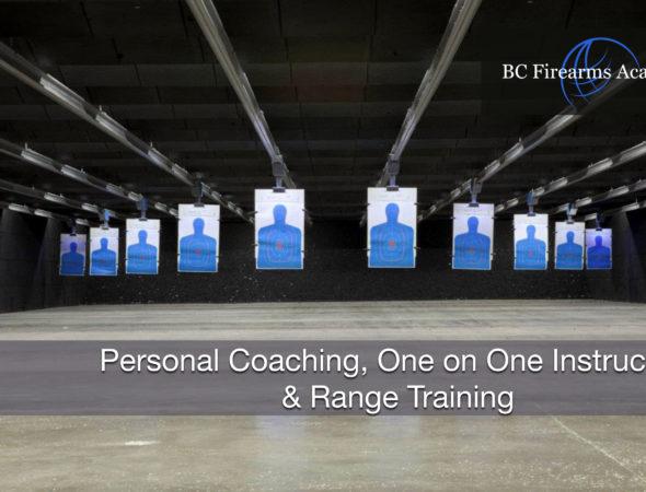 Personal Coaching, One on One Instruction & Range Training June 21