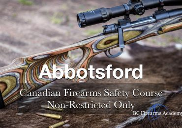 NON-RESTRICTED ONLY CFSC (non-restricted PAL) Abbotsford Thurs Sept 3