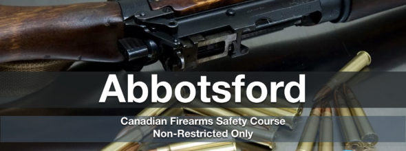 NON-RESTRICTED ONLY CFSC (non-restricted PAL) Abbotsford Thurs Jan 23