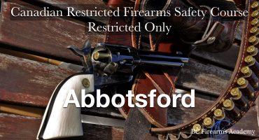 RESTRICTED-ONLY CRFSC (RPAL) Abbotsford Fri Feb 7