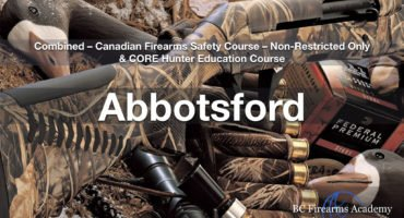 CFSC & CORE Non Restricted Firearms License & CORE Hunter Education Abby March 21/22 Thurs/Fri