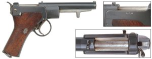 In The Beginning: Semi-Automatic Pistols of the 19th Century