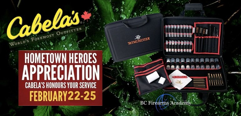 BC Firearms Academy Hometown Heroes Gun Cleaning Event
