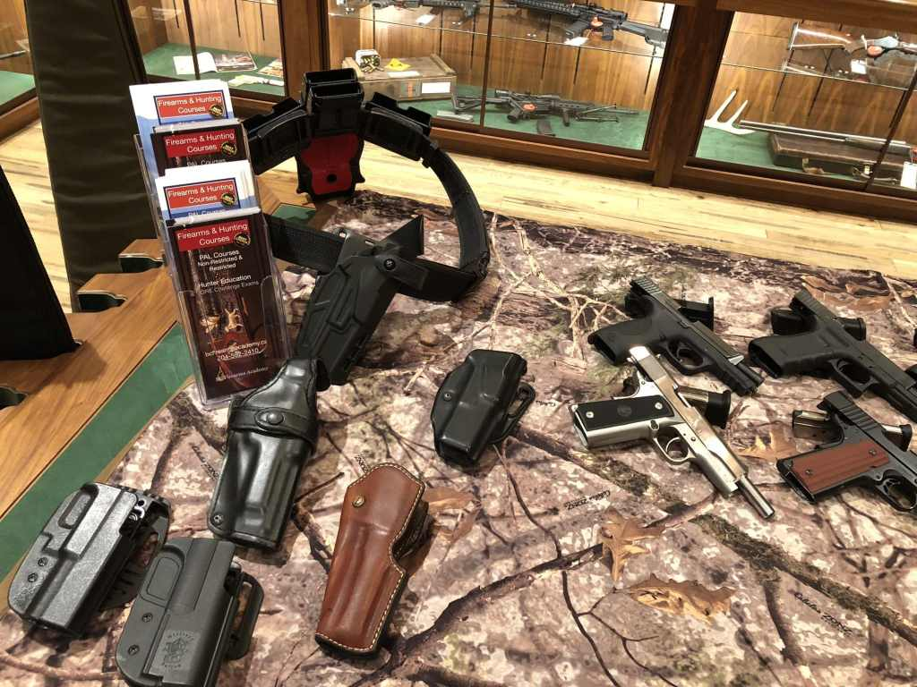 Introduction to Handguns BC Firearms Academy at Cabela's Ladies' Day Out Holsters