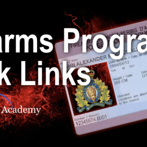 Quick Links from the RCMP Firearms Program