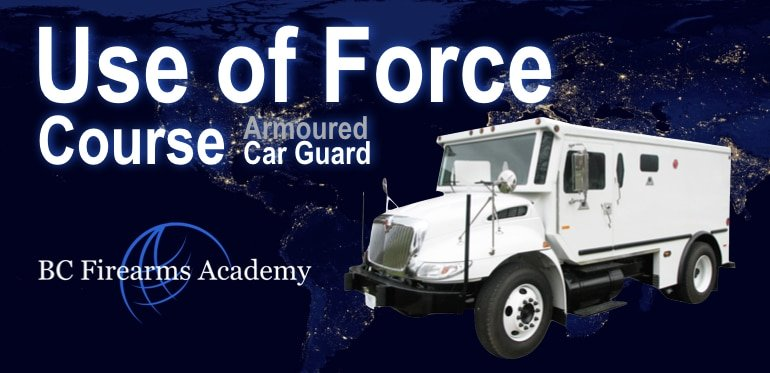 Armoured Car Use of Force Course ATC