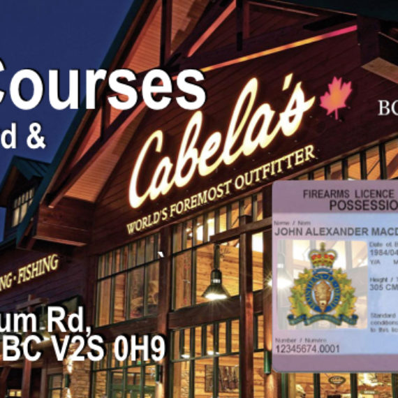 PAL Courses in Abbotsford & Chilliwack with BC Firearms Academy