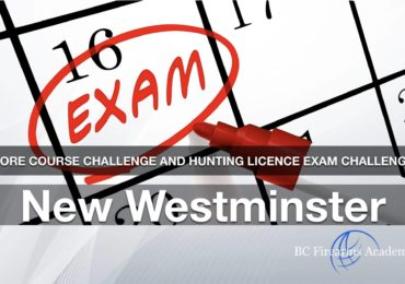 CORE Course Challenge and Hunting Licence Exam Challenge JIBC Dec 29