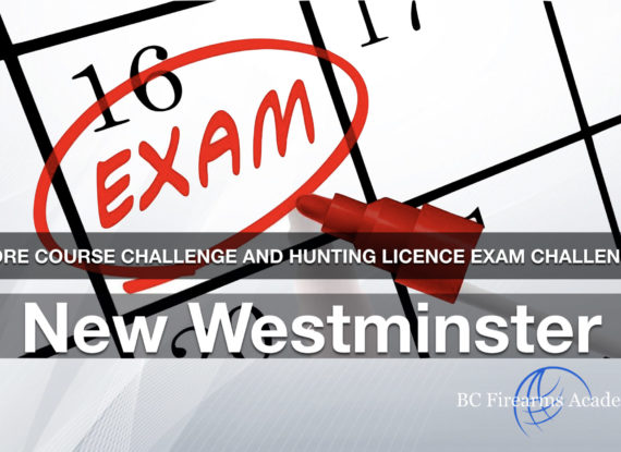 CORE Course Challenge and Hunting Licence Exam Challenge JIBC March 24 Sun