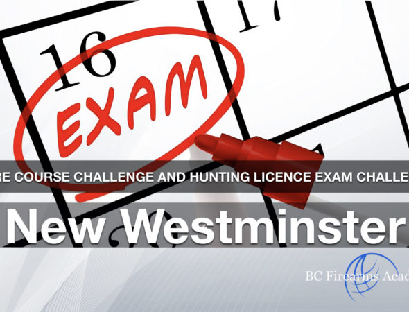 CORE CHALLENGE Hunting License Exam Challenge New Westminster Sun Nov 24