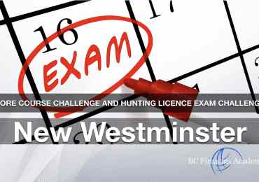 CORE CHALLENGE Hunting License Exam Challenge New Westminster Sun May 31
