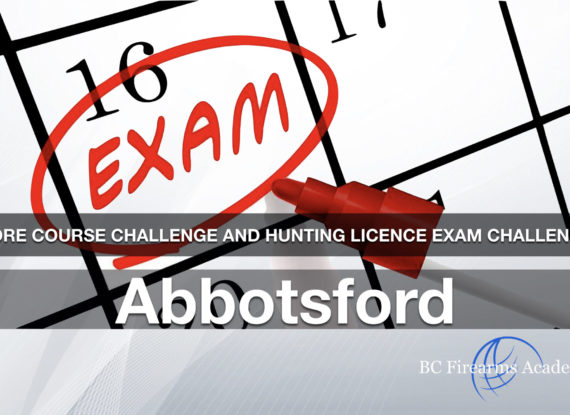 CORE CHALLENGE: Hunting License Exam Challenge Abbotsford Friday January 24