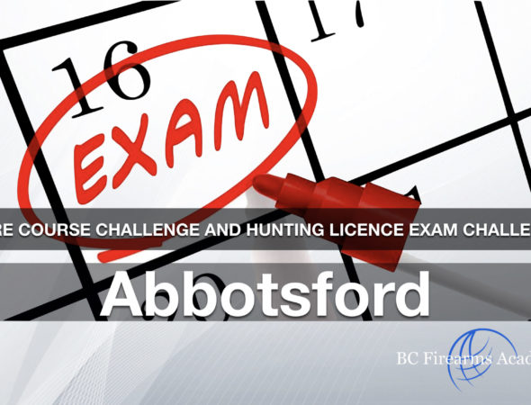CORE CHALLENGE Hunting License Exam Challenge Abbotsford Sun April 12