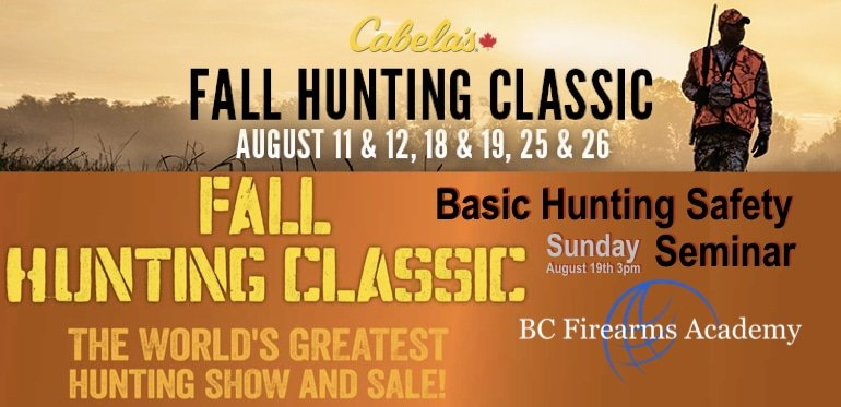 Fall Hunting Classic with BC Firearms Academy