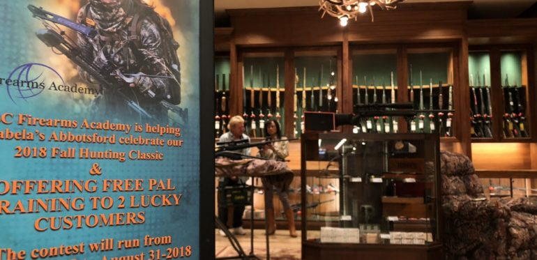 Gun Cleaning Lecture at the Abbotsford Cabela's provided by BC Firearms Academy duringFall Hunting Classic