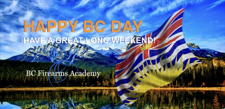 Happy BC Day 2018 Have A great Long Weekend!