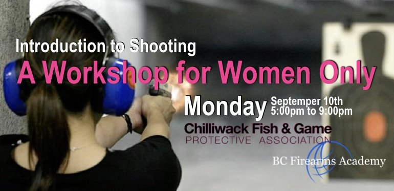 Introduction to Shooting a Workshop for Women Only