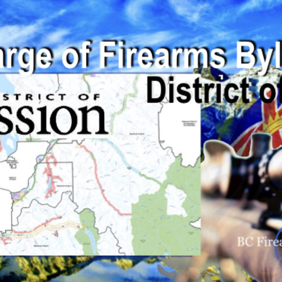 Discharge of Firearms Bylaw Maps District of Mission