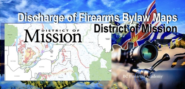 Discharge of Firearms Bylaw MapsDistrict of Mission