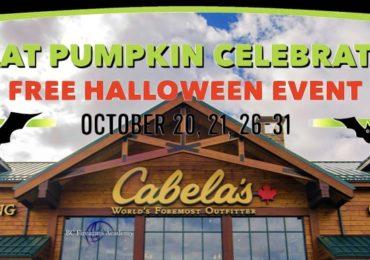 Great Pumpkin Celebration October 2018 at Cabela's Abbotsford