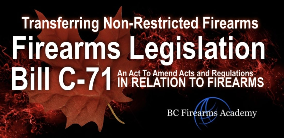 Transfers of Non-Restricted Firearms After Bill C 71