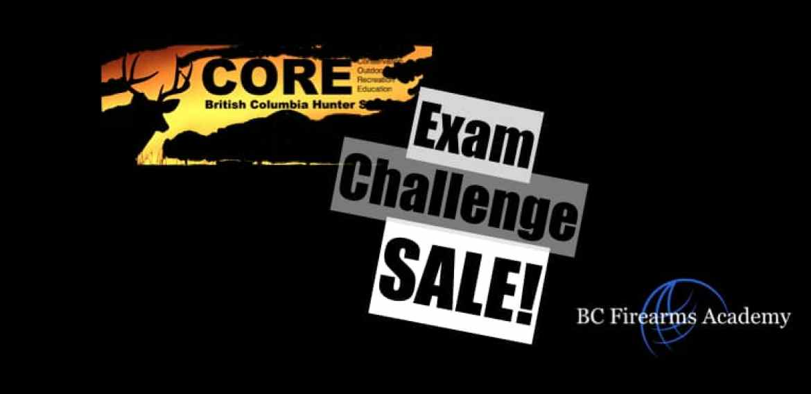 CORE Challenge Exams for only $25 with BC Firearms Academy!