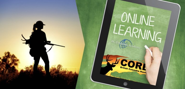 Hunting Course Online BC CORE Course Online Study