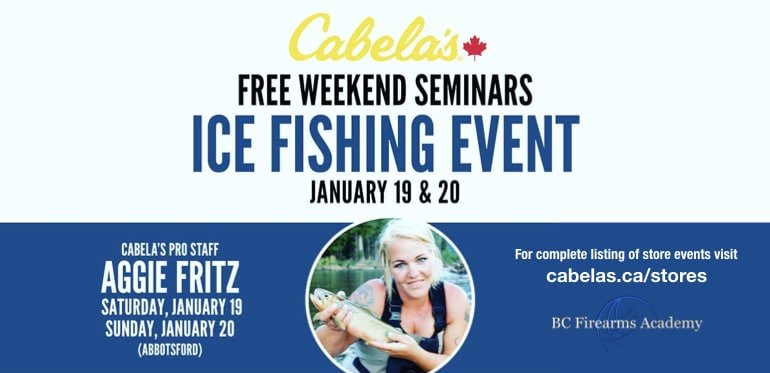 Ice Fishing Event Free Weekend Seminars January 2019