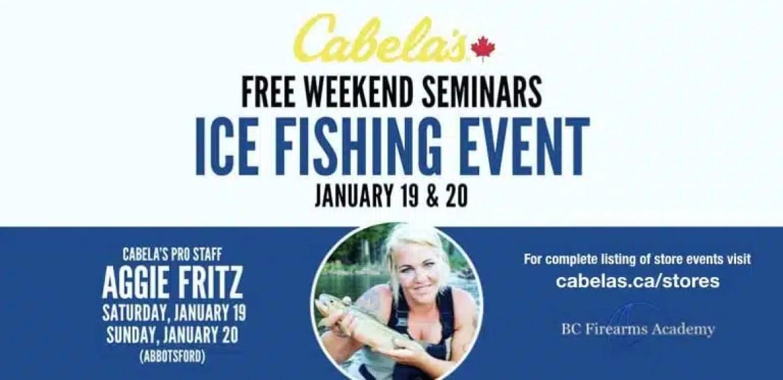 Ice Fishing Event Free Weekend Seminars January 2019